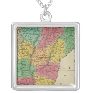 Vermont 9 silver plated necklace