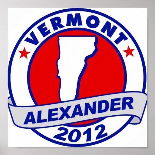 Vermont Alexander Posters