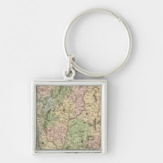 Vermont and New Hampshire Key Ring