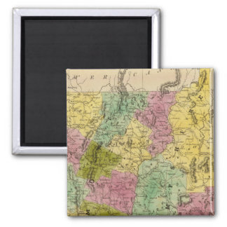Vermont And New Hampshire Magnet