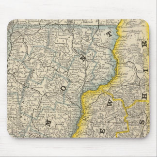 Vermont and New Hampshire Mouse Pad