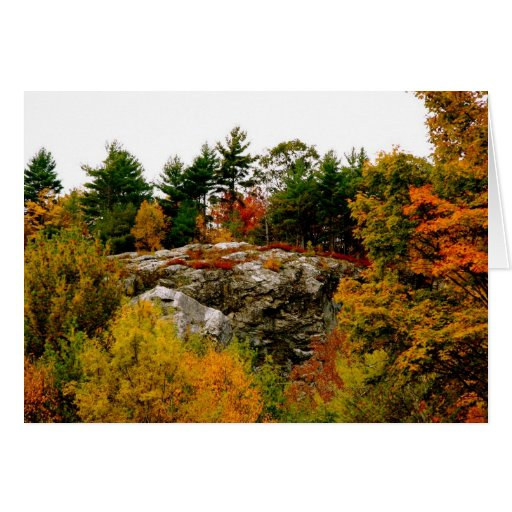 Vermont autumn greeting cards