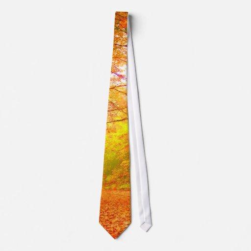 Vermont Autumn Nature Fine Art Tie