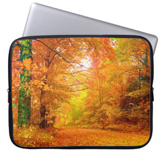Vermont Autumn Nature Landscape Laptop Sleeve
