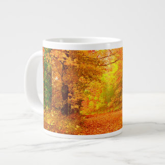 Vermont Autumn Nature Landscape Large Coffee Mug