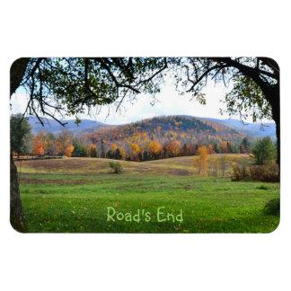 Vermont Autumn View Magnet