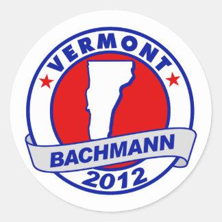Vermont Bachmann Sticker