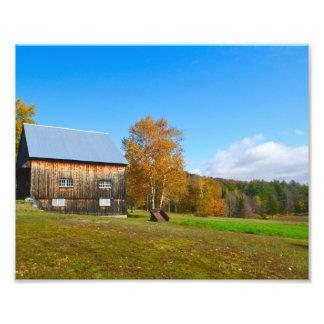 Vermont Barn Photo Art