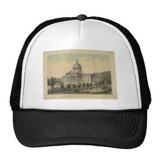 Vermont Capitol Building Montpelier Mesh Hats