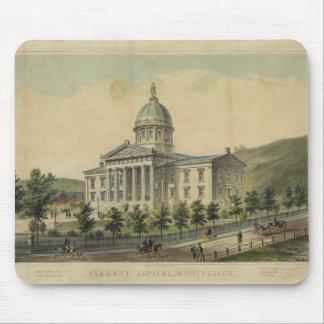 Vermont Capitol Building Montpelier Mouse Pads