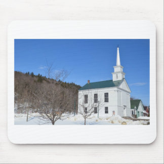 Vermont Church. Mouse Pad