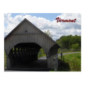 Vermont Covered Bridge Postcard