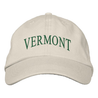 Vermont Embroidered Hat