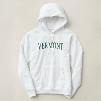 Vermont Embroidered Hoodie