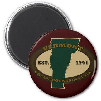 Vermont Est 1791 Magnet