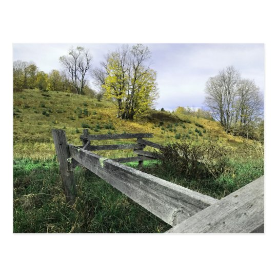 Vermont Farmyard Postcard