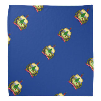 Vermont flag bandana