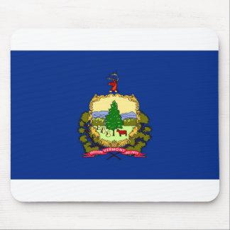 Vermont flag mouse pad
