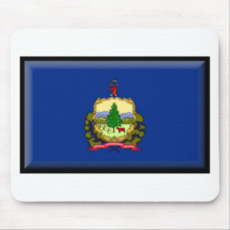 Vermont Flag Mouse Pad