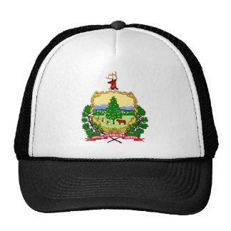 Vermont Flag Theme 00 Trucker Hats