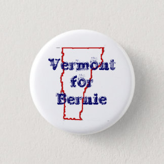 Vermont for Bernie 3 Cm Round Badge