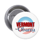 VERMONT for Obama Badge