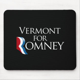 Vermont for Romney -.png Mouse Pad