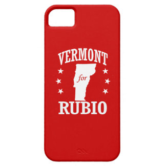 VERMONT FOR RUBIO iPhone 5 COVER