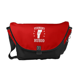 VERMONT FOR RUBIO MESSENGER BAGS