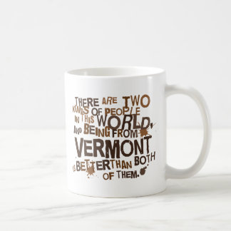 Vermont (Funny) Gift Basic White Mug