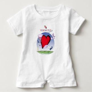 Vermont head heart, tony fernandes baby bodysuit