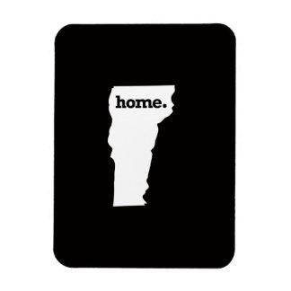 Vermont Home Rectangular Photo Magnet