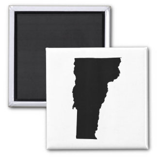 Vermont in Black and White Magnet