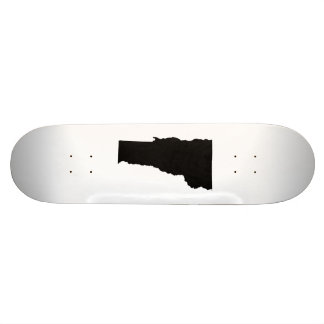 Vermont in Black and White Skate Boards