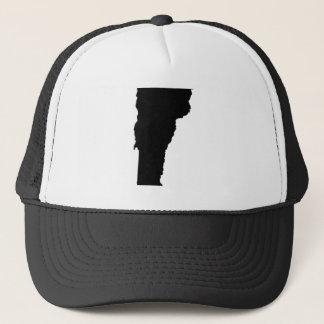 Vermont in Black and White Trucker Hat
