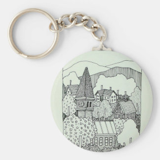 Vermont Inking 41 by Piliero Key Ring