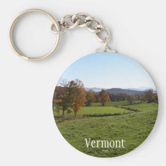 Vermont Key Ring