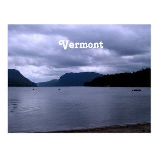 Vermont Lake Postcard