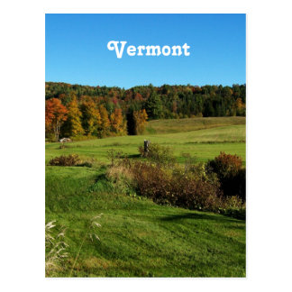 Vermont Landscape Postcard