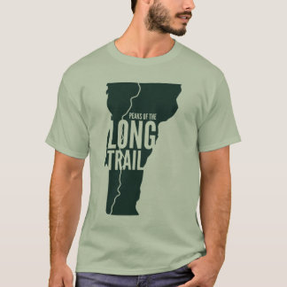 Vermont Long Trail Peaks List T-Shirt