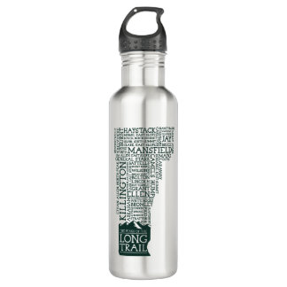 Vermont Long Trail Stainless Steel Water Bottle