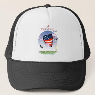 Vermont loud and proud, tony fernandes trucker hat