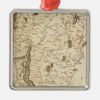 Vermont Map by Arrowsmith Christmas Ornament