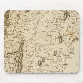 Vermont Map by Arrowsmith Mouse Pad