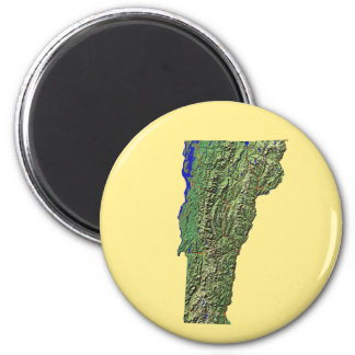 Vermont Map Magnet