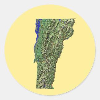 Vermont Map Sticker