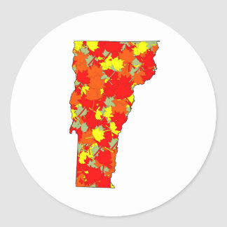 Vermont Maple Classic Round Sticker