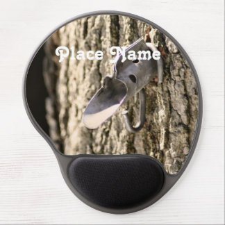 Vermont Maple Tapping Gel Mouse Pad
