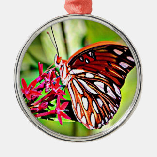 Vermont Monarch Butterfly Christmas Ornament