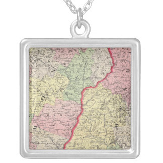 Vermont, NH Silver Plated Necklace